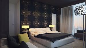 Accent Wall Wallpaper Bedroom Bedroom Accent Wall Wallpaper Wall Mounted Platform Masterr Bed