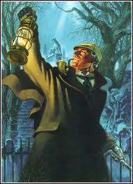 an illustration of sherlock holmes from