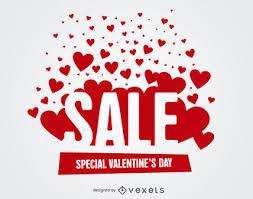 valentines sale vector graphics to