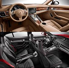 porsche hatchback interior panamera hatchback received new modifications