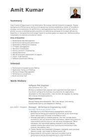 Sample Resume For 2 Years Experienced Software Engineer by Software Test Engineer Resume Samples Visualcv Resume Samples