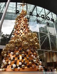 glitter and gold mod alternative tree modern minimal