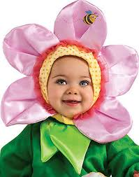 Flower Baby Halloween Costume Pink Pansy Flower Baby Infant Halloween Costume Infant 12 18