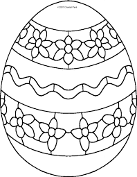 happy easter egg coloring pages kids womanmate