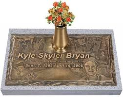 memorial markers expressions in bronze headstones grave markers with your photos
