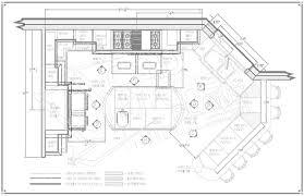 attractive kitchen blueprint restaurant kitchen layout design