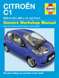 citroen c1 repair manual haynes manual service manual workshop