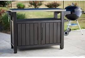 outdoor cooking prep table outdoor grill serving food prep station bbq table cart patio storage