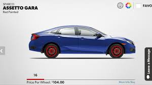 si e auto sparco post your aftermarket wheel tire set up page 34 2016 honda