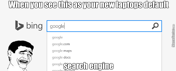 Meme Search Engine - i even use mc more as a search engine than bing by skullrmvr meme