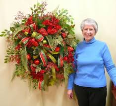 how to make wreaths how to make a door