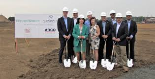 pharma company breaks ground on new u s corporate headquarters