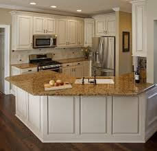 kitchen antique white kitchen cabinets with dark floors best
