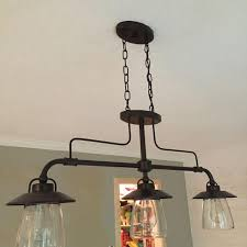 allen and roth lighting find more allen roth bristow 36 in w 3 light mission bronze
