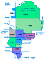 Zip Code Map Of Phoenix Premier Phoenix Area Real Estate City Guides And Maps