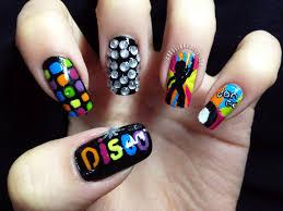 nail art disco dance youtube