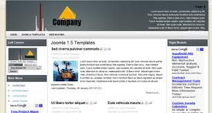 company profile joomla 1 5 template