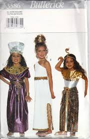 Halloween Costumes Sewing Patterns 74 Vbs Egypt Costumes Images Egyptian Costume
