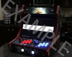 Bar Top Arcade Cabinet Bartop Arcade Etsy