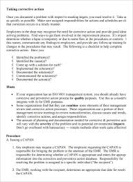 ar report template 8 corrective report templates free word pdf documents