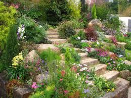 affordable exterior remarkable rock garden design for home