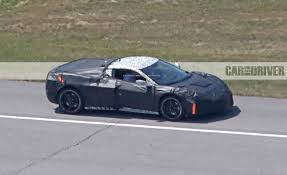 c8 corvette pics of mid engined chevy corvette offer best view yet