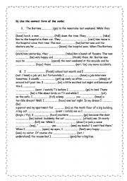 past simple exercises pdf e grammar