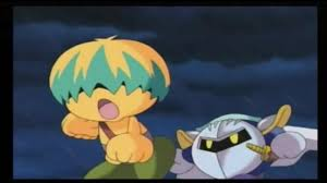anime halloween gif the entirety of kirby right back at ya scare tactics coub