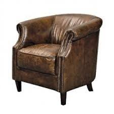 Leather Armchair Small Leather Armchairs Foter