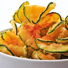 cuisiner de la courgette recette chips de courgette