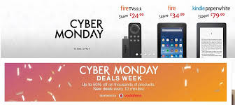amazon fire black friday monday cyber monday deals sees store websites deluged by early bird