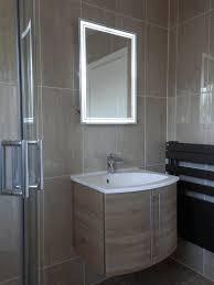 backlit bathroom mirrors sky blue wall paint lime green wall