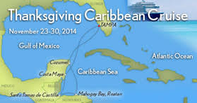 thanksgiving mayan caribbean all culinary cruise 2014