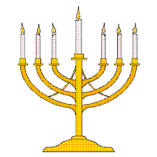 menorah candle holder candlestick
