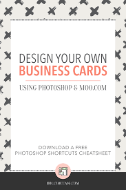 How To Do Business Cards Design Your Own Business Cards Lilbibby Com