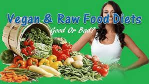 are vegan food diets and raw food diets good or bad