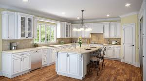 raised kitchen cabinets kithen design ideas drawers colors white cabinet hardware painting