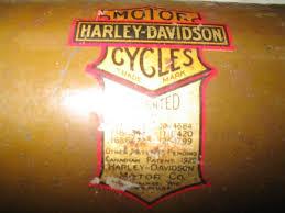 original paintantique and vintage harley davidsons 1917 1923 green