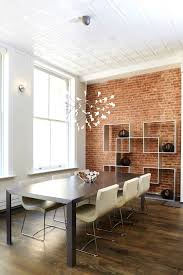 apartments comely dining room brick wall house faux and creative