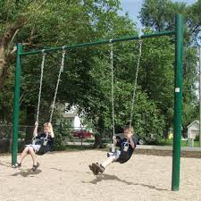 sportsplay 4 5 inch single post swing set what we like about