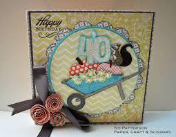 Cricut Birthday Card An October Birthday Card With Cricut Paper Craft Scissors