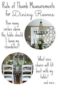 What Size Chandelier For Dining Room Decorating Your Dining Room Must Tips Driven By Decor