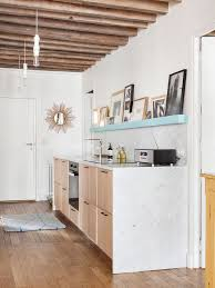cuisine en couloir aménager sa cuisine dans couloir exemples côté maison