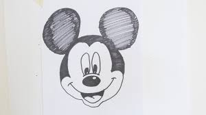 drawing how to draw mickey mouse step by step for kids youtube