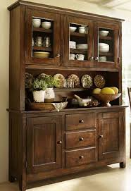 dark wood china cabinet larrenton dining room buffet ashley furniture homestore with hutches