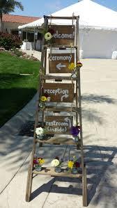 wedding arch ladder best 25 diy wedding ladder ideas on