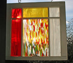 stained glass home decor repurposing old windows old house web blog