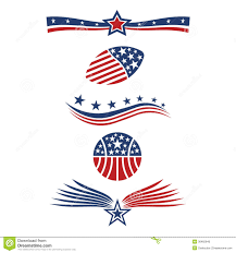 Star Flags Usa Star Flag Icons Stock Vector Illustration Of Insignia 36465840