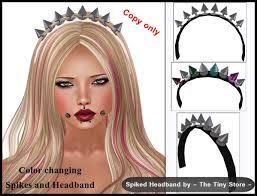 spiked headband second marketplace the tiny store spiked headband