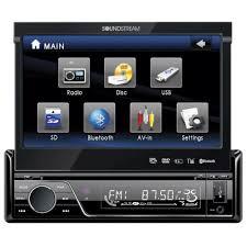 amazon com soundstream vir 7830b single din bluetooth car stereo